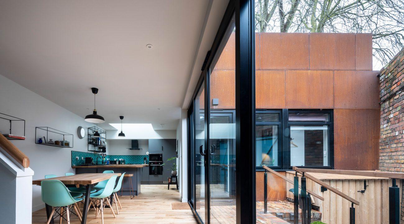 inner view - kitchen area